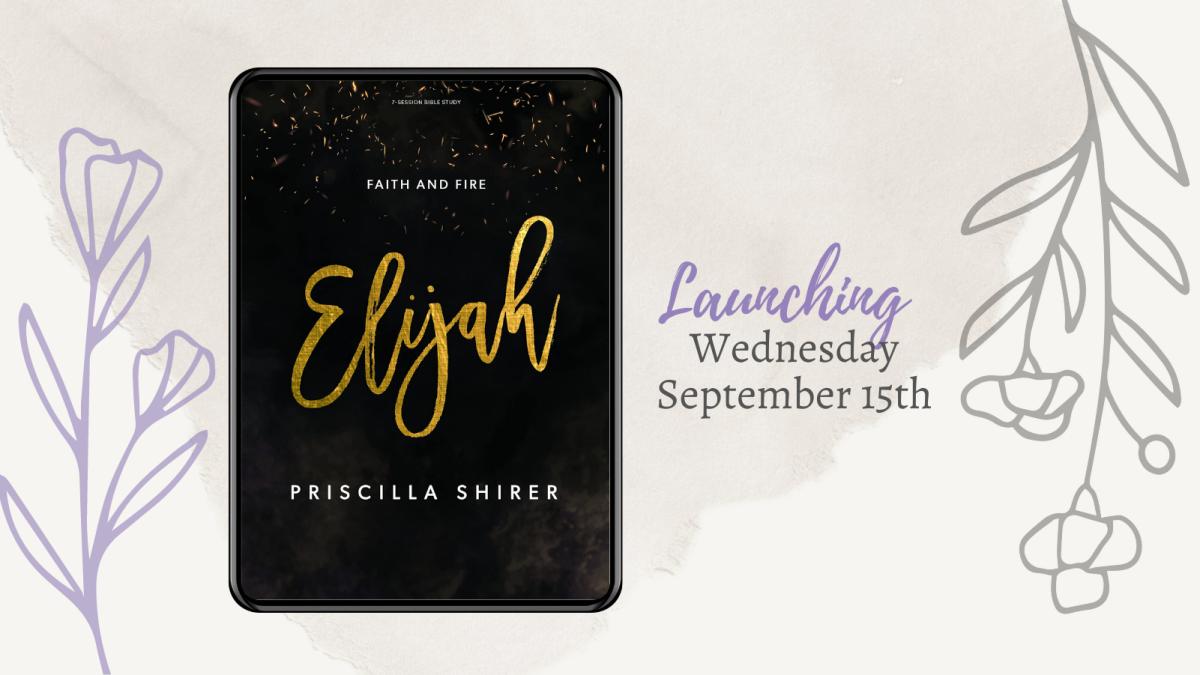 Women's Bible Study- The Elijah Bible Study
